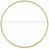 "Metal Rings 12""/30.5cm Brass"